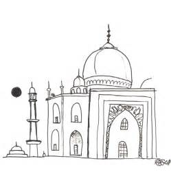 Mosque Drawing by Speed Sketching Sketches And Schmidt