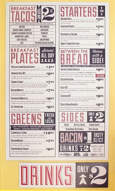 menu layout rules typography visual hierarchy 28 images type hierarchy