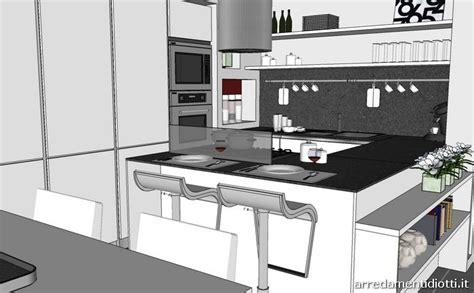 cucine diotti cucina angolare con penisola moderna diotti a f