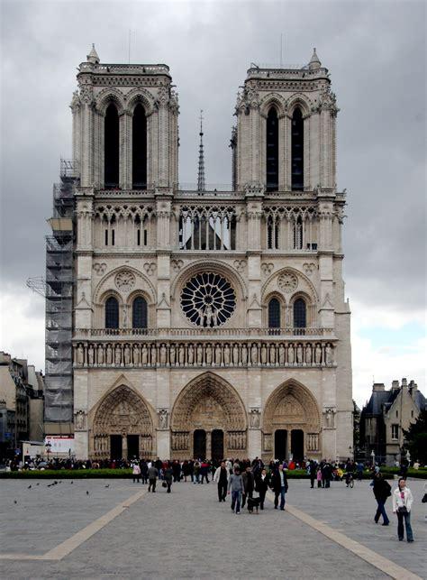 notre dame of paris file notre dame de paris facade jpg