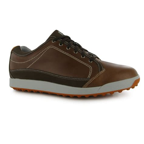 footjoy contour casual golf shoes mens brown trainers