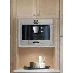 bosch benvenuto 174 built in coffee machine stainless steel