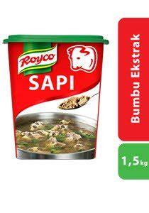 royco bumbu ekstrak daging sapi 1 5kg unilever food solutions id