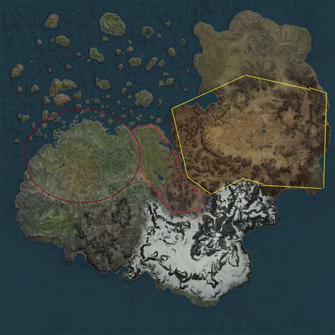 black desert world map la carte du monde les murs invisibles discussions
