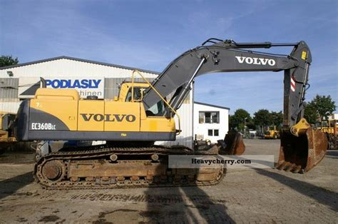 volvo ec  blc airco central lubrication  caterpillar digger construction equipment