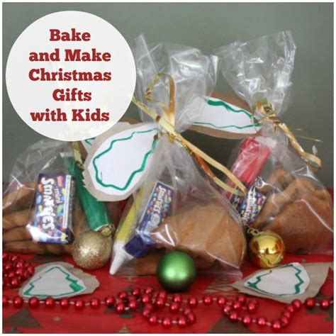 bake and make christmas gifts with kids crafty kids at home
