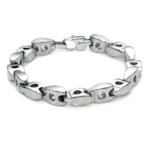 Bracelet Titanium 10 S 10mm Titanium Link Bracelet