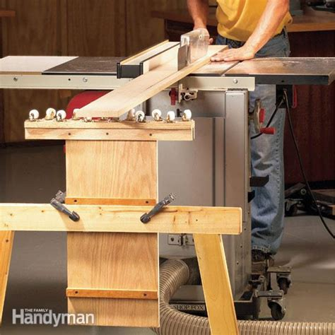 build  outfeed table  family handyman