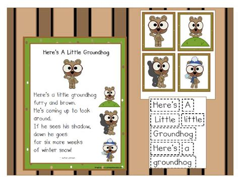 groundhog day idiom 45 best sight word ideas images on word