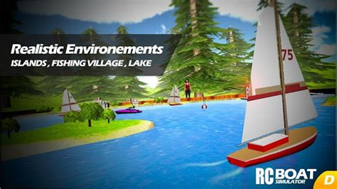 rc boat games game rc boat simulator apk for windows phone android