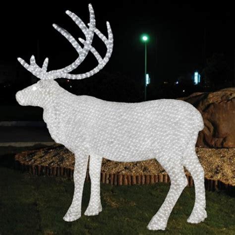 Custom Outdoor Decoration Light Animal Shaped 3d Led Outdoor Lights Reindeer