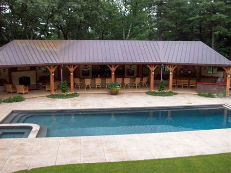 cabana ideas framingham ma gunite pool and cabana building concrete