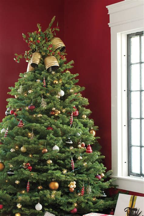 why is a christmas tree a tradition get the look traditional tree southern living