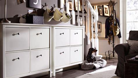 Ikea Hemnes Aufbewahrung by Aufbewahrung An Der Treppe Mit Hemnes Schuhschr 228 Nken Mit 4