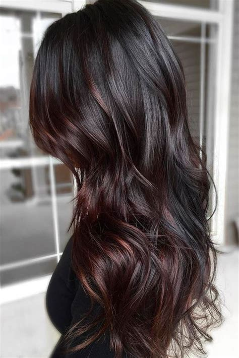 brown black hair color 35 rich and sultry brown hair color ideas