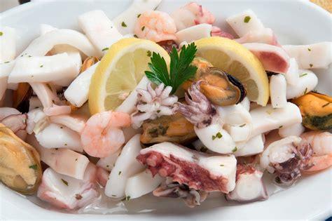 le ricette di casa ricetta insalata di pesce marinata soluzioni di casa