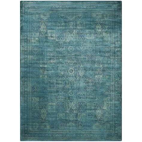 safavieh vintage turquoise multi 8 ft x 11 safavieh vintage turquoise multi 8 ft 10 in x 12 ft 2 in area rug vtg127 2220 9 the home depot