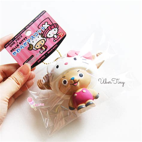 Squishy Licensed hello x onepiece chopper in a hk hat squishy licensed 183 uber tiny 183 store