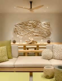 dekoration aus treibholz treibholz deko im modernen interior strandvilla in