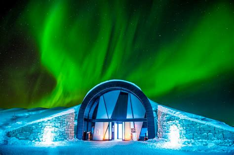 family friendly ice hotels ice bars  visit  winter