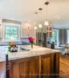 Awesome Kitchen Backsplash For White Cabinets #3: Beautiful-white-country-kitchen-remodel-with-pendant-lights.jpg