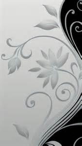 Flower Images For Wallpaper - 640x1136 flower stalk black amp white iphone 5 wallpaper