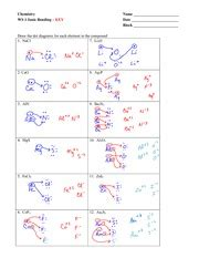 Ionic Bond Worksheet Answer Key by Molar Mass And Percent Composition Key 3 3 No 3 Iron