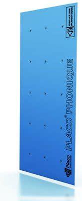 Placo Phonique Plafond by Plaque De Pl 226 Tre Phonique Placo 174 Phonique Ba 13 L Placo 174