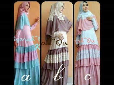 Baju Gamis Abaya Syar 39 I Bergo Pink Salemhr327 syanahqu set bergo y810