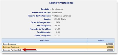 base de prestaciones y cont de prestaciones de un empleado base de conocimiento