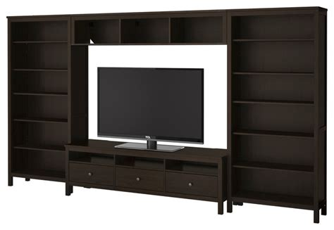 ikea hemnes media hemnes tv storage combination black brown ikea