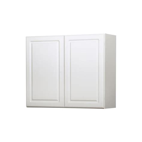 lowes white kitchen cabinets shop diamond now concord 36 in w x 30 in h x 12 in d white