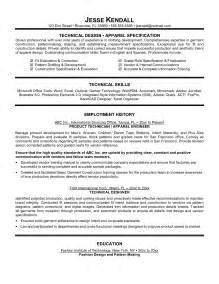 Technical Skills Exles For Resume by Technical Resume Exles Getessay Biz