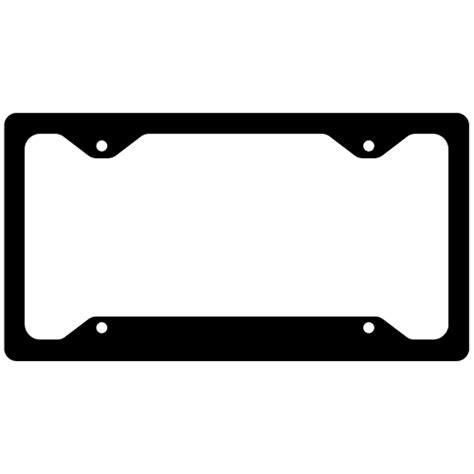 Assorted Color License Plate Frames License Plate Frame Template