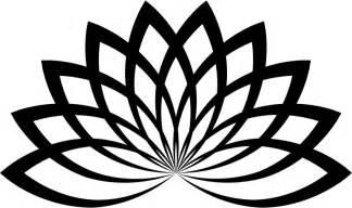 Lotus Line Drawing Clipart Lotus Line