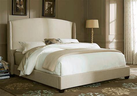 alston quartz king upholstered bed