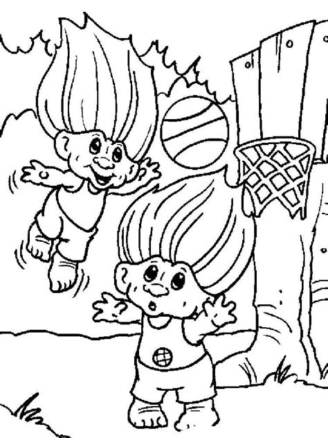 trolls coloring pages free printable trolls coloring pages