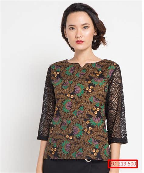 Model Baju Batik Atasan 10 model baju batik atasan kerja paling populer model baju