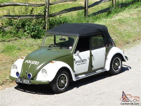 4 Door Volkswagen Beetle For Sale by 1972 Classic Vw 4 Door Beetle Cabriolet Polizei