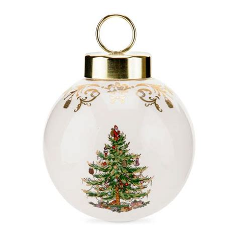 spode christmas tree 75th anniversary bauble ornament