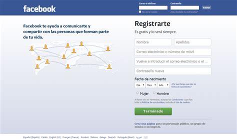 como registrarse en edmodo iniciar sesion c 243 mo crear una cuenta de facebook e iniciar sesi 243 n