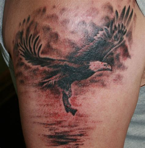 eagle tattoo fail eagle and fish by abendick on deviantart