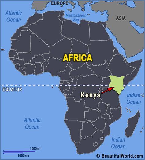africa map kenya map of kenya facts information beautiful world