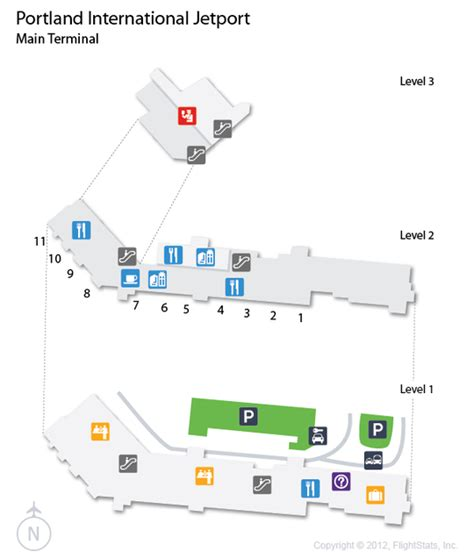 portland airport map map of portland airport afputra