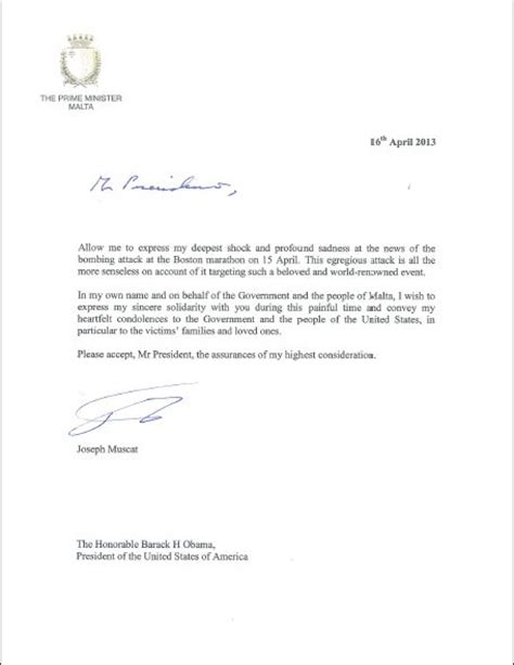 Official Letter Of Condolence Ffs Don T They Anyone Who Can Write A Proper Letter Of Condolence Caruana