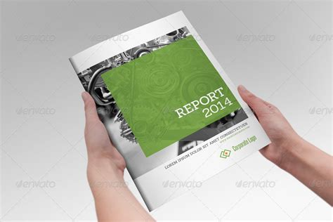 annual report clean indesign brochure by braxas graphicriver