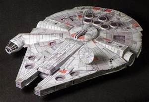 Millennium Falcon Papercraft - papermau wars millennium falcon paper model by