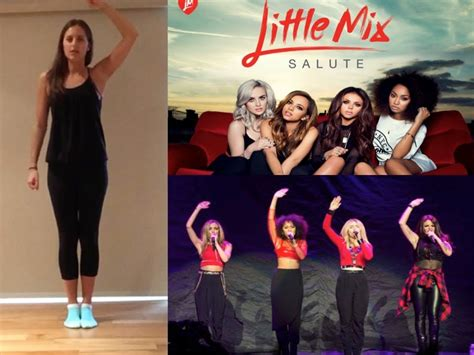 tutorial dance little mix little mix salute dance tutorial part 1 youtube