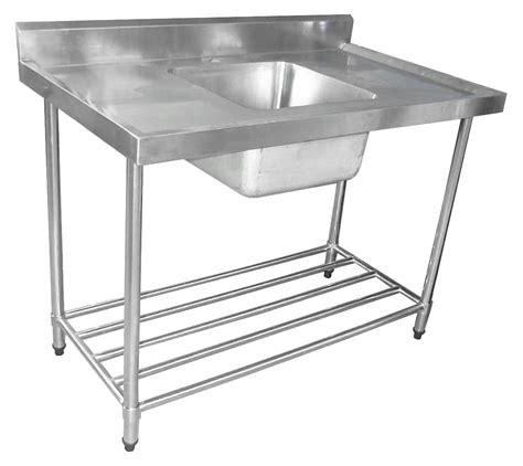 Sink Pot Rack kss 1200mm single sink w splashback and adjustable pot rack concorde food equipment