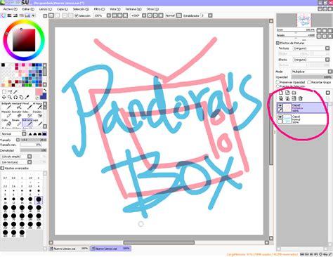 paint tool sai en espaã ol y pandora s box turtorial 1 paint tool sai b 225 sico